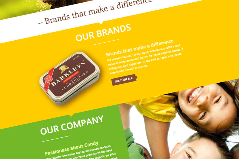 Trompenburg Candy corporate website