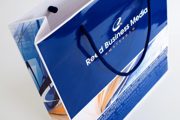 Reed Business Media huisstijl ontwerp